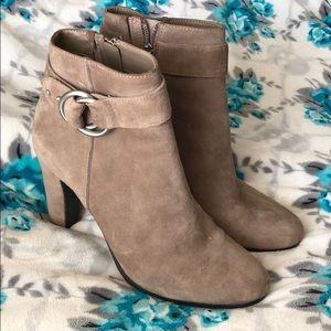 High heeled booties